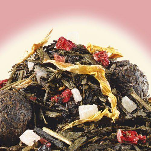 Schrader Die 8 Schätze des Shaolin® Aromatisierter grüner T