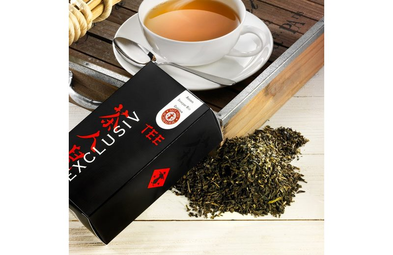 Schrader Grüner Tee Assam Sewpur TGBOP Bio