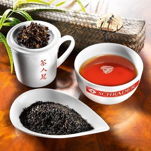Schrader Schwarzer Tee China Keemun Golden Bio