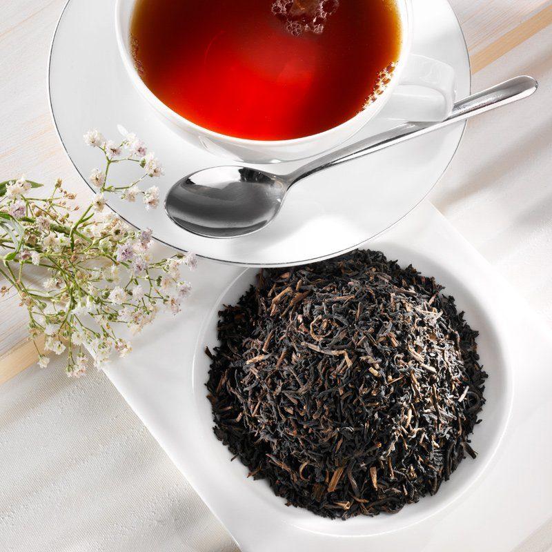 Schrader Schwarzer Tee entkoffeiniert Ceylon