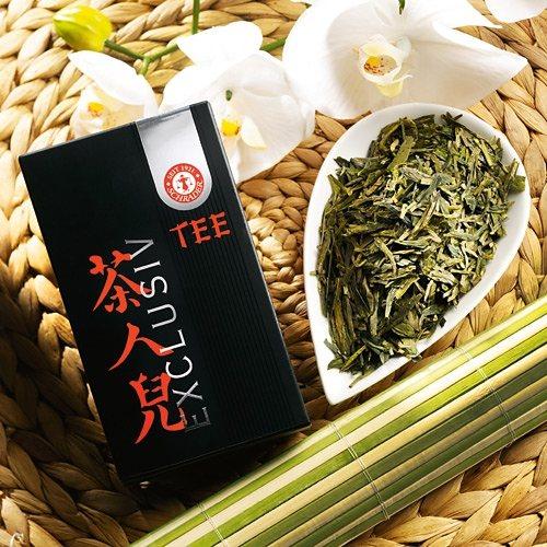 Schrader Grüner Tee China Taohua Lung Ching First Grade Bio
