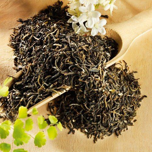 Schrader Aromatisierter grüner Tee China Jasmin Chung Hao Bio