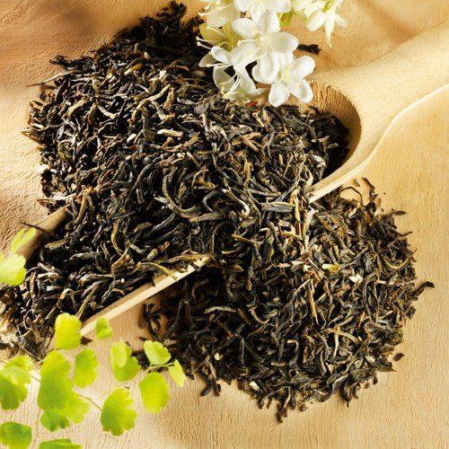 Schrader Jasmin Chung Hao, aromatisierter Grüntee, Bio