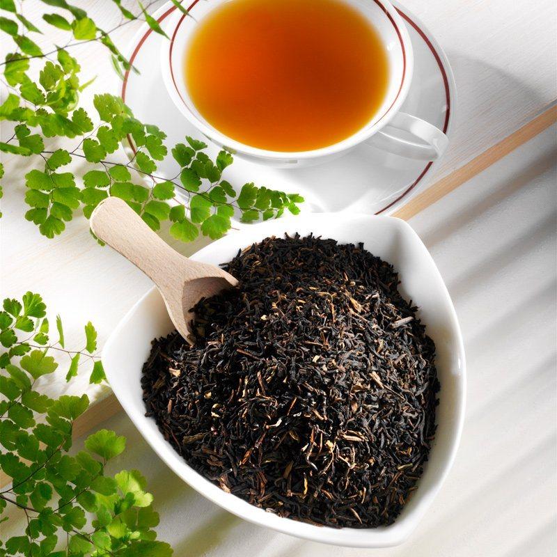 Schrader Schwarzer Tee entkoffeiniert Earl Grey