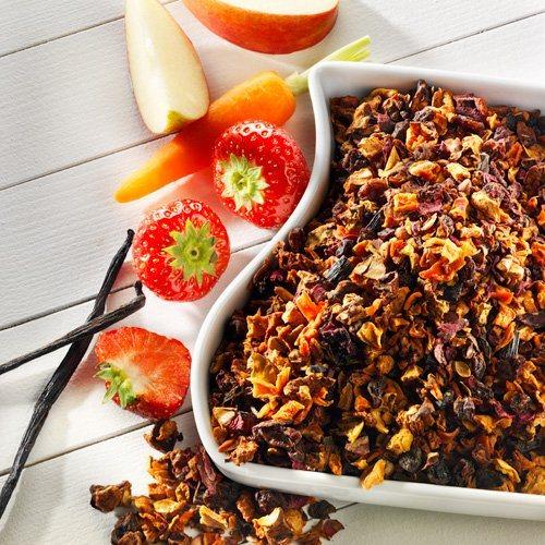 Schrader Früchtetee Erdbeer-Vanille Bio