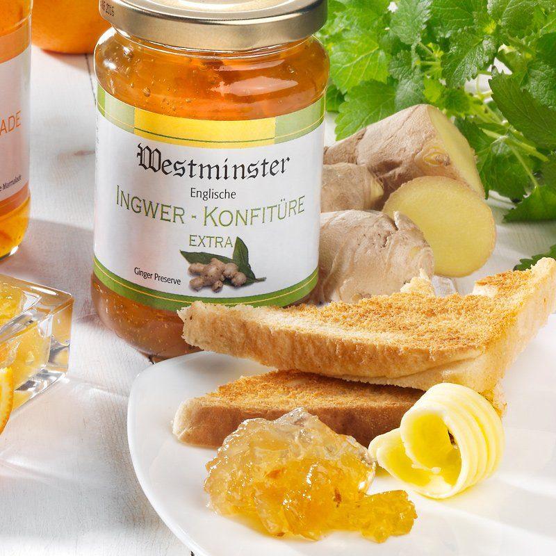 Schrader Westminster Ingwer-Konfitüre Extra