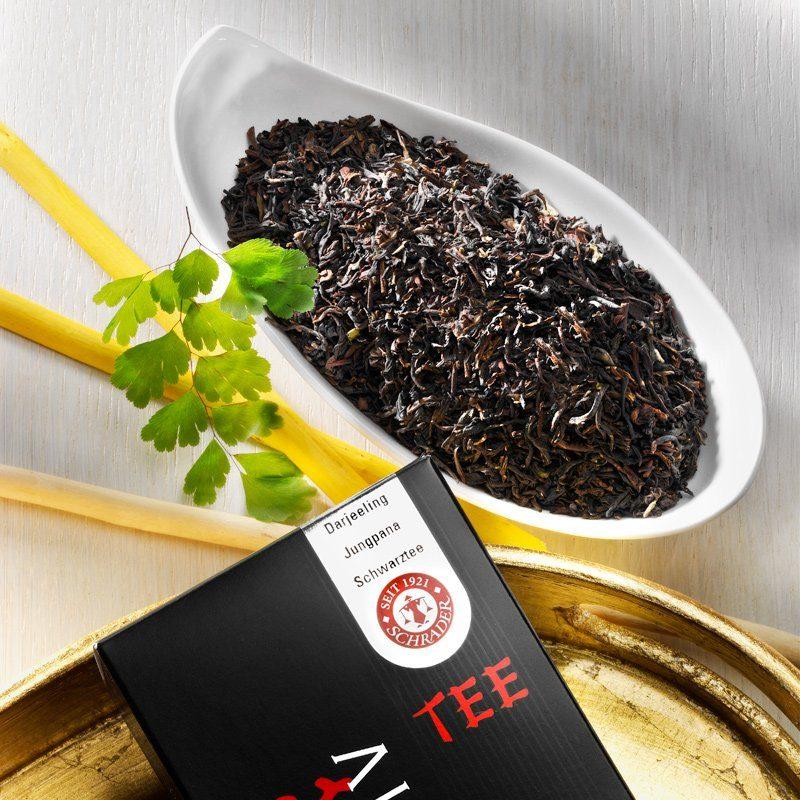Schrader Schwarzer Tee Darjeeling Second Flush Jungpana FTGFOP1 Bio