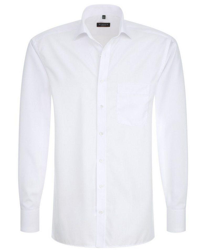 ETERNA Langarm Hemd »MODERN FIT« in weiß