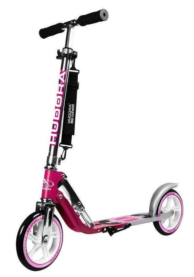 Hudora Scooter, »Big Wheel 205« in magenta-silber