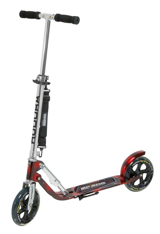 Hudora Scooter, »Big Wheel MC 205« in schwarz-rot