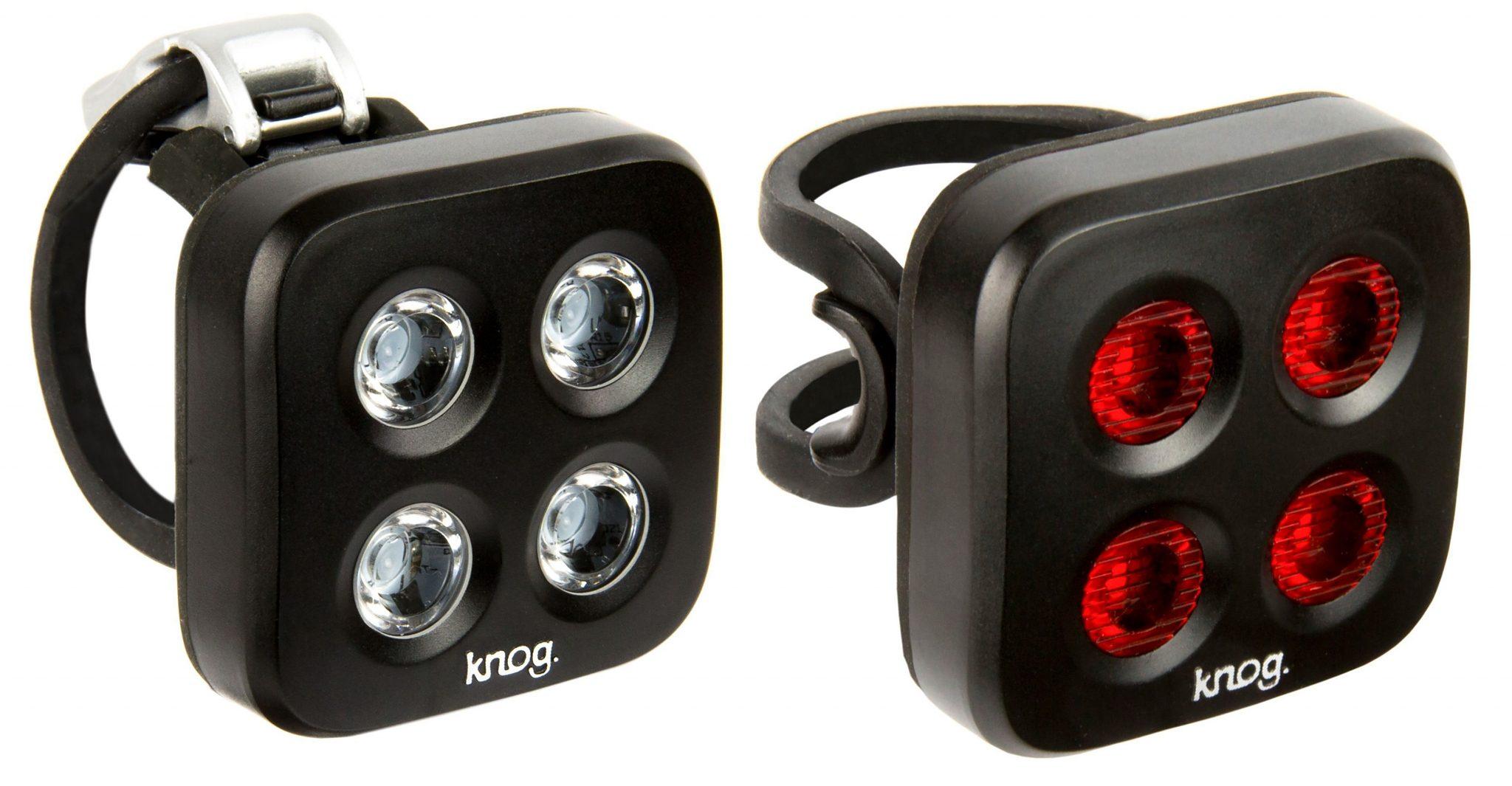 Knog Fahrradbeleuchtung »Blinder MOB The Face Beleuchtungsset Twinpack«