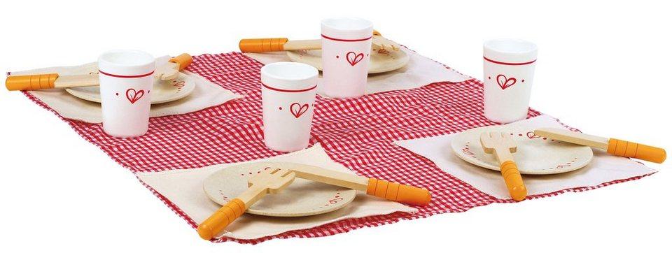 Hape Picknick-Geschirrset, »Mittagessen« (21-tlg.)