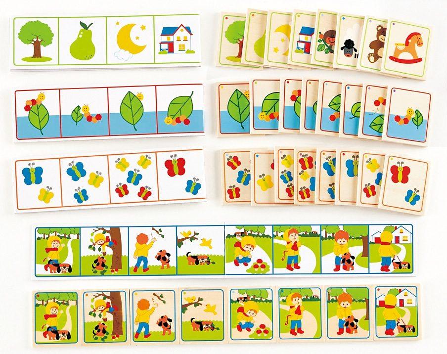 Hape Kartenspiel, »Geschichten-Reihenfolge« (36-tlg.)