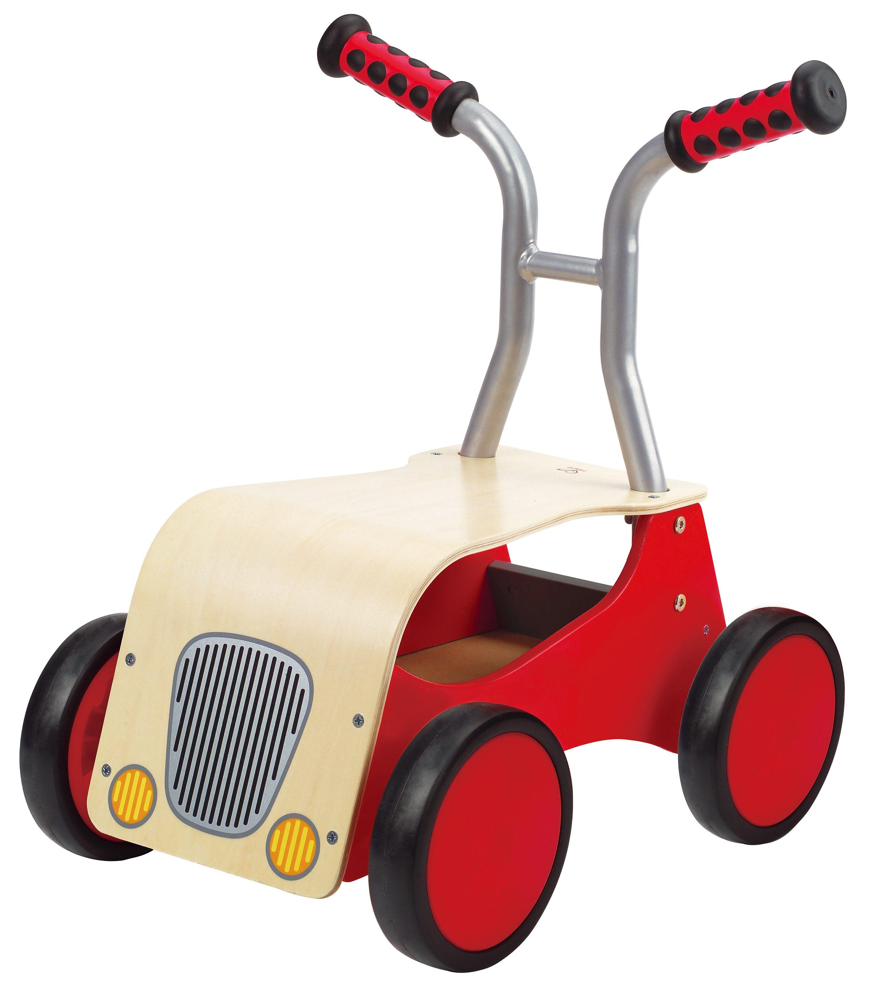 Hape Rutscher und Lauflernwagen, »Roter Raser«
