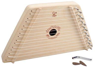 Hape Spielzeug-Musikinstrument »Singende Harfe«, (Set, 4 tlg)