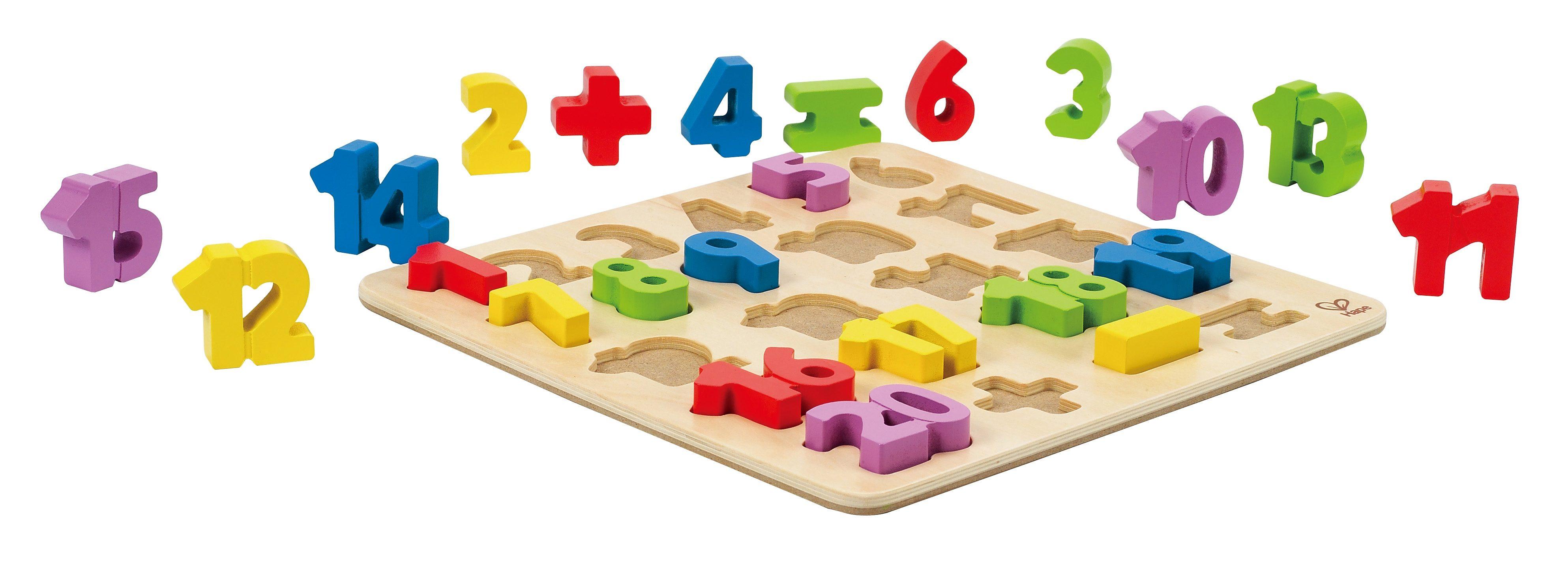 Hape Holzpuzzle 24 Teile, »Zahlen 1-20«