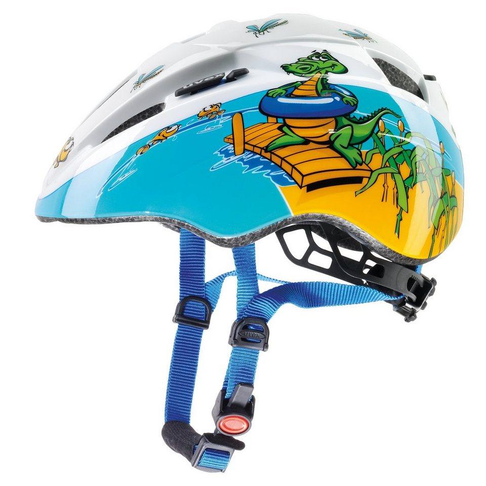 UVEX Fahrradhelm »kid 2 Helm« in blau