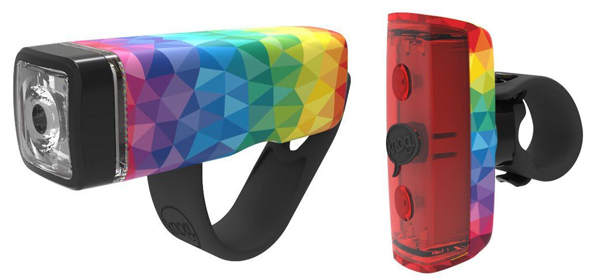 Knog Fahrradbeleuchtung »POP Duo Beleuchtungsset Twinpack«