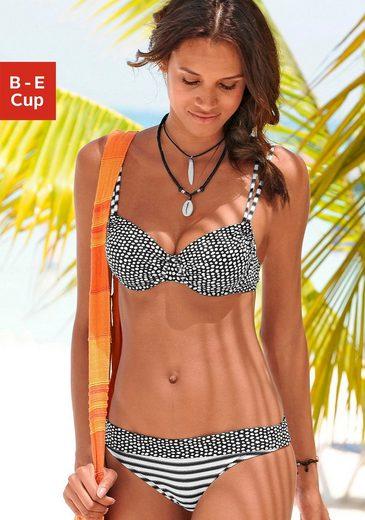 s.Oliver Beachwear Bügel-Bikini im angesagten Mustermix