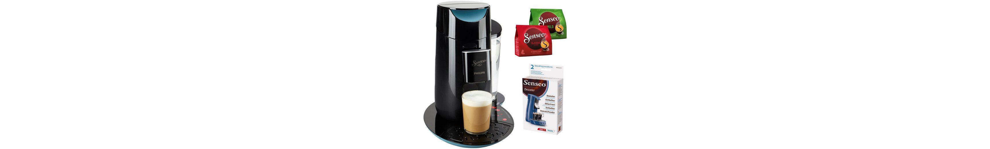 SENSEO® Kaffeepadmaschine HD7870 Twist, inkl Gratis-Zugaben im Wert von 14 €