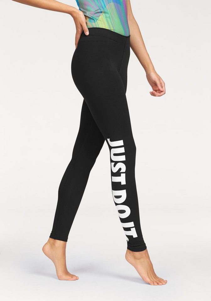 nike sportswear leggings leg a see just do it otto. Black Bedroom Furniture Sets. Home Design Ideas