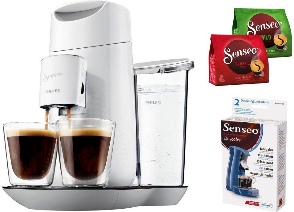 SENSEO® Kaffeepadmaschine HD7871/10 Twist inkl Gratis-Zugaben im Wert von 14 € in Weiß und Grau