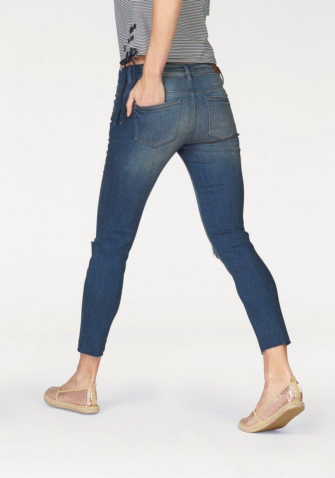tom tailor denim 7 8 jeans mit kniecut kaufen otto. Black Bedroom Furniture Sets. Home Design Ideas