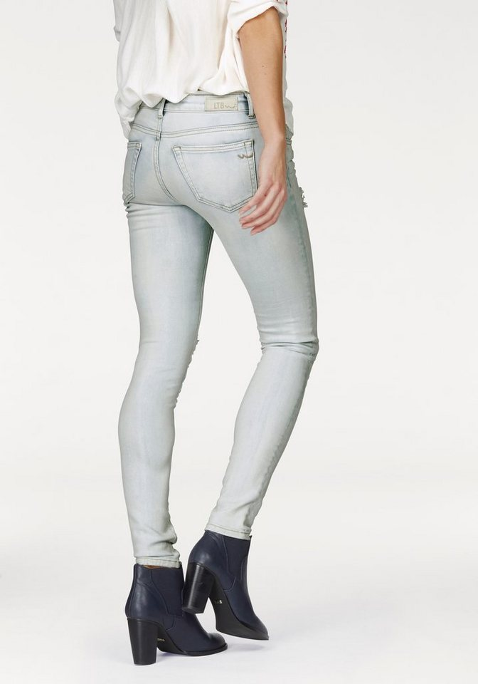 LTB Slim-fit-Jeans »Clara« in light-blue-evania-washed