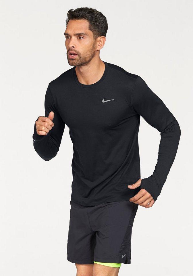 Nike Laufshirt in Schwarz