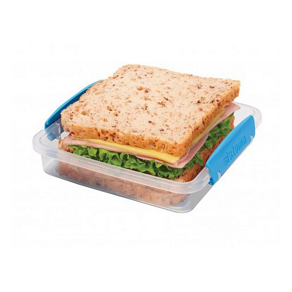 sistema sistema Sandwich-Box Clip blau in transparent, blau
