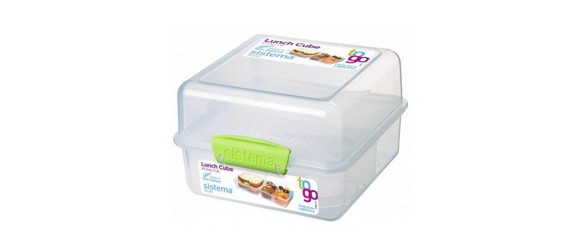 sistema sistema Lunch Box To Go, Clip grün