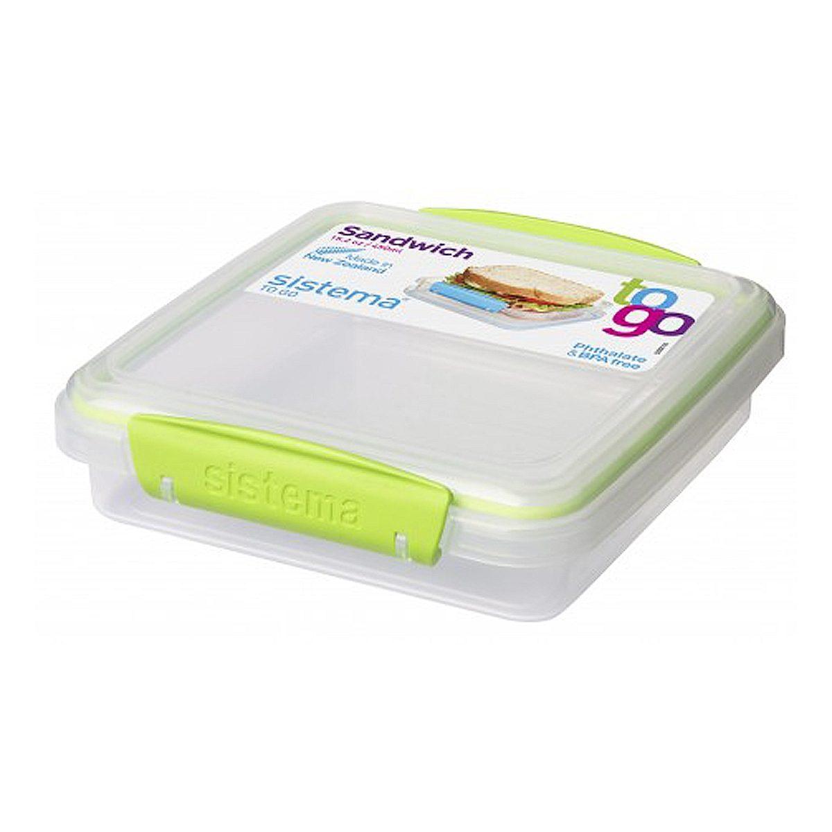 sistema sistema Sandwich-Box Clip grün