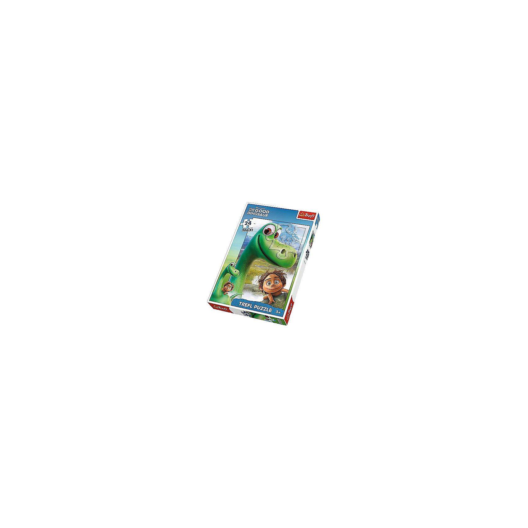 Trefl Maxi Puzzle 24 Teile - Disney Arlo & Spot