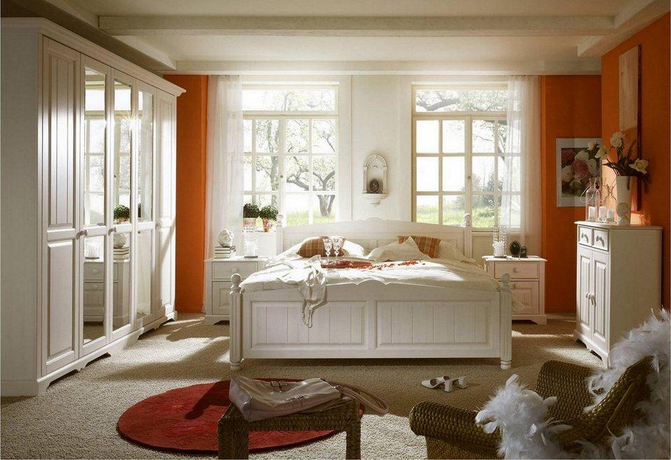 premium collection by home affaire schlafzimmer set pisa 4 tlg online kaufen otto. Black Bedroom Furniture Sets. Home Design Ideas