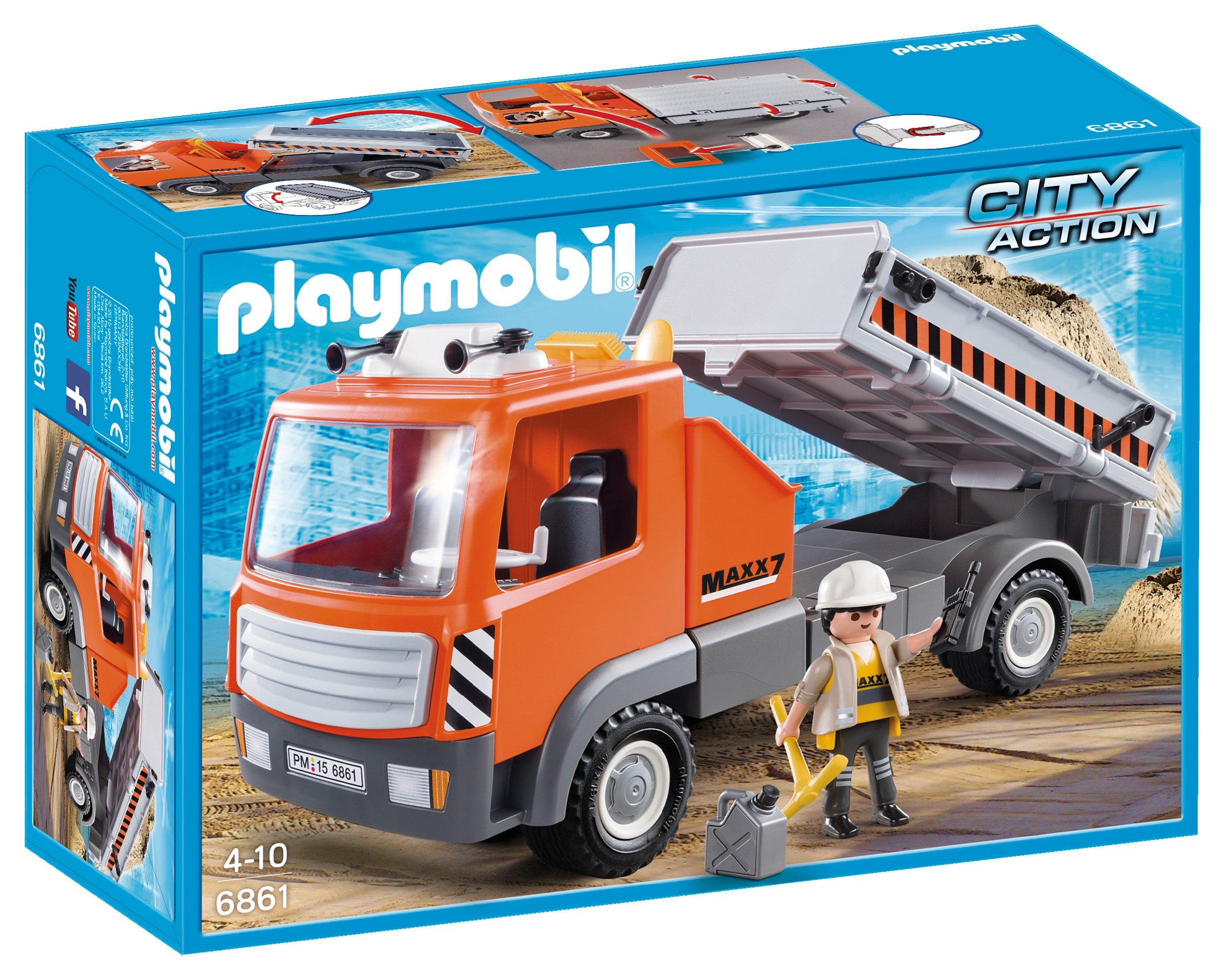 Playmobil® Baustellen-LKW (6861), »City Action«