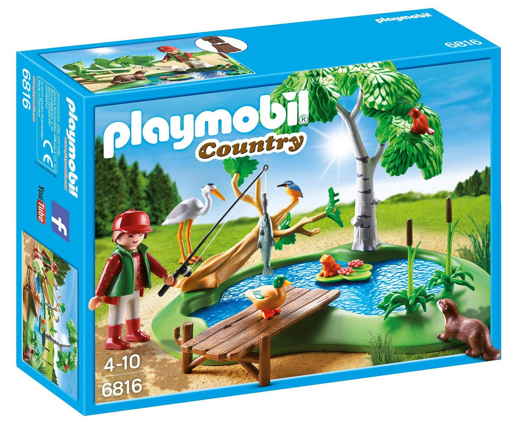 Playmobil® Angelteich (6816), »Country«