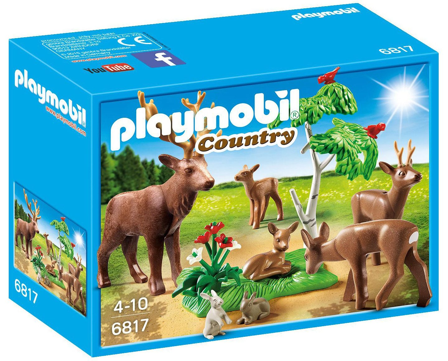 Playmobil® Hirsch mit Rehfamilie (6817), »Country«