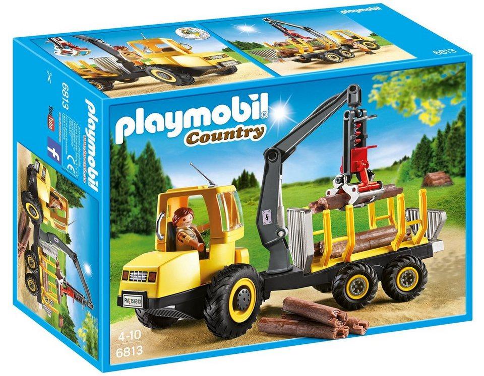 Playmobil® Holztransporter mit Kran (6813), »Country«