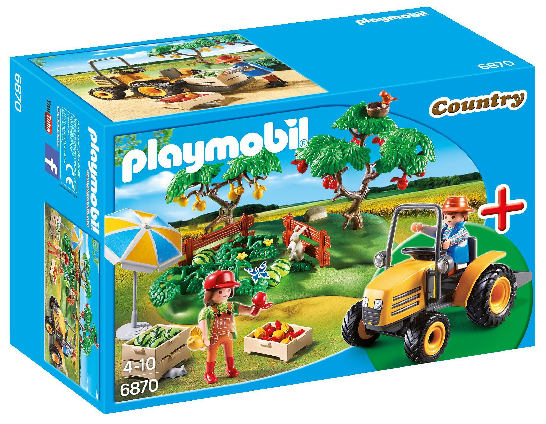 Playmobil® Starterset Obsternte (6870), »Country«