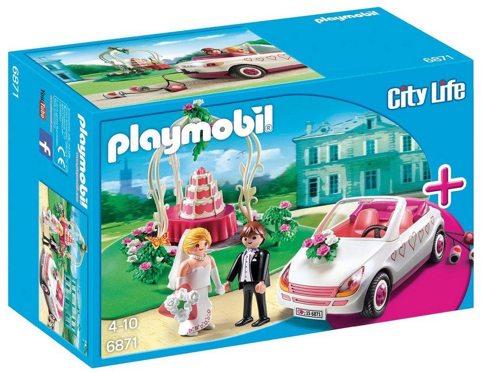 Playmobil® Starterset Hochzeit (6871), »City Life«