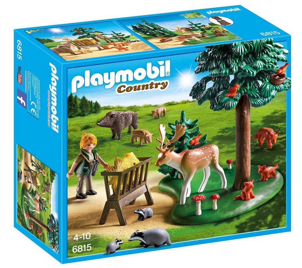 Playmobil® Waldlichtung mit Tierfütterung (6815), »Country«