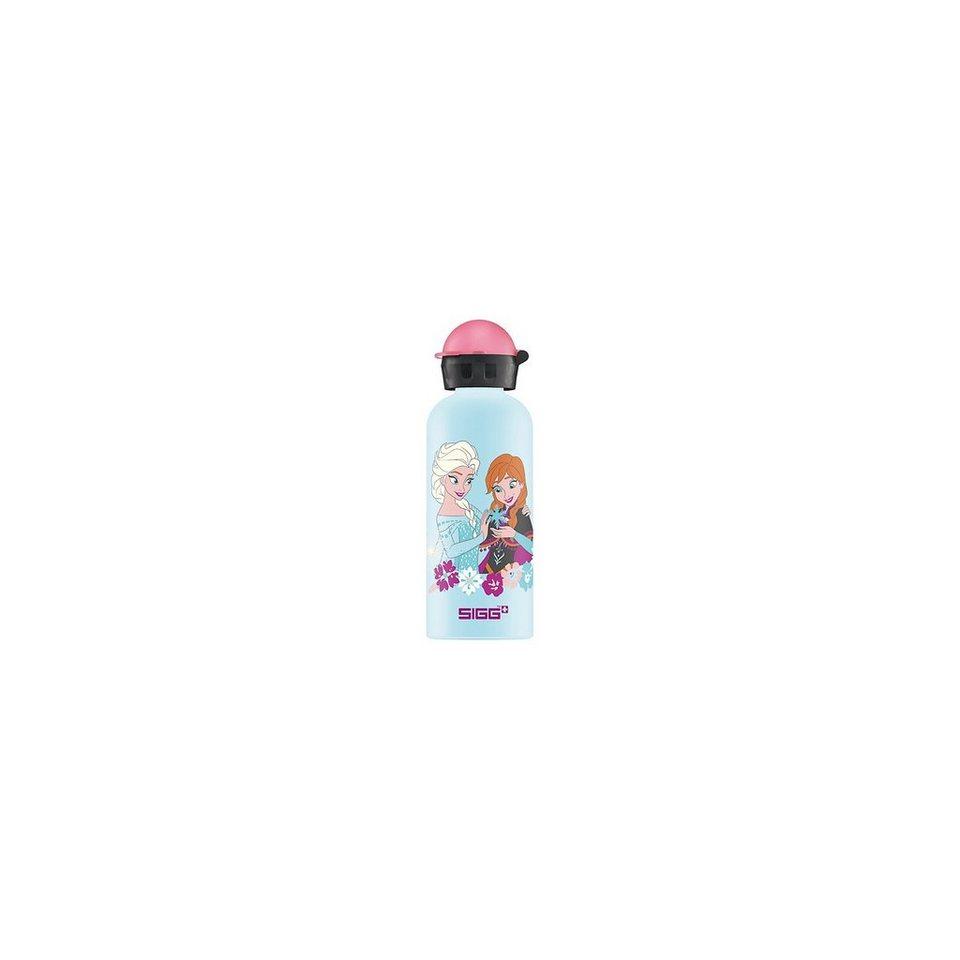 SIGG Alu-Trinkflasche Die Eiskönigin Anna & Elsa, 600 ml in blau