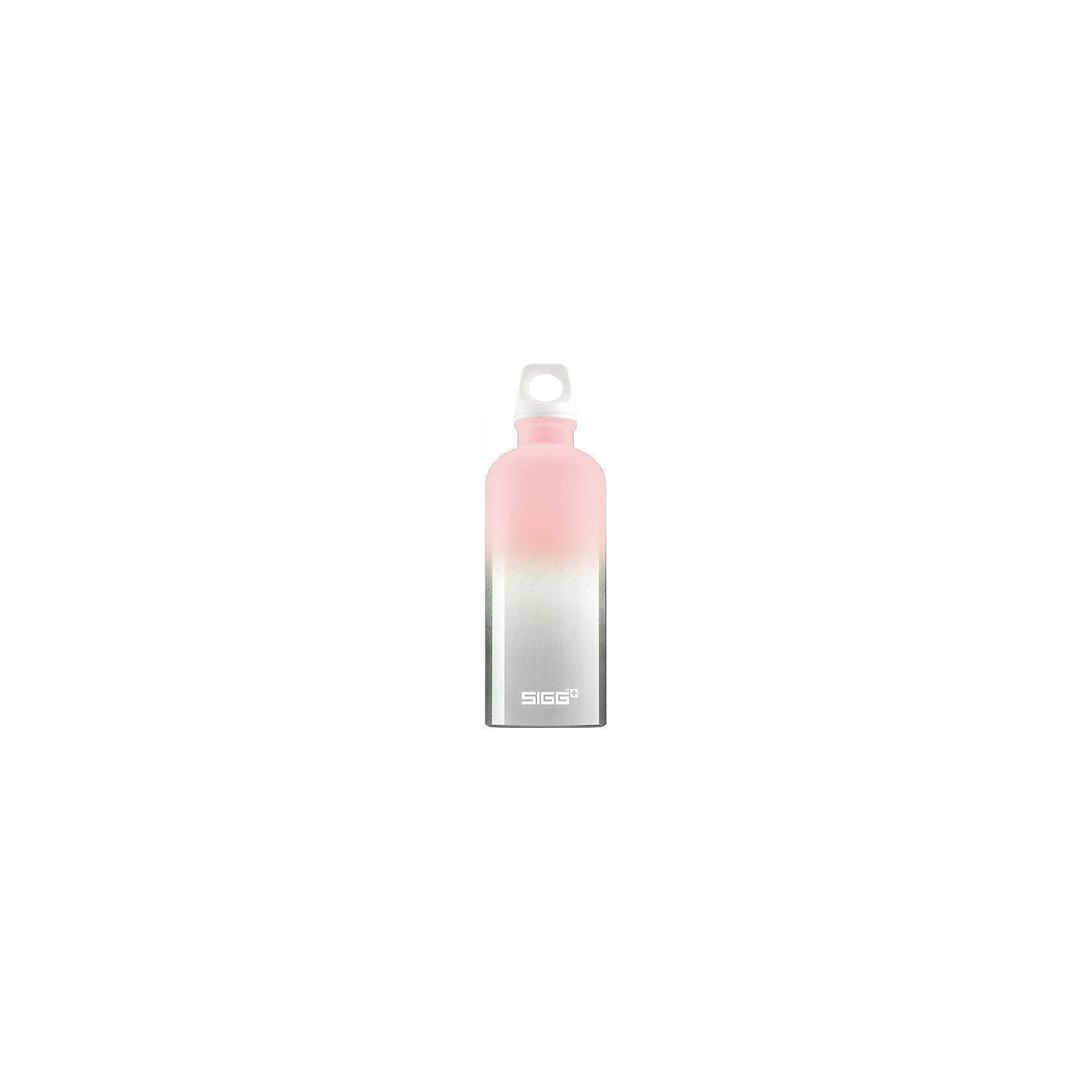 SIGG Alu-Trinkflasche CRAZY Pastel Pink, 600 ml