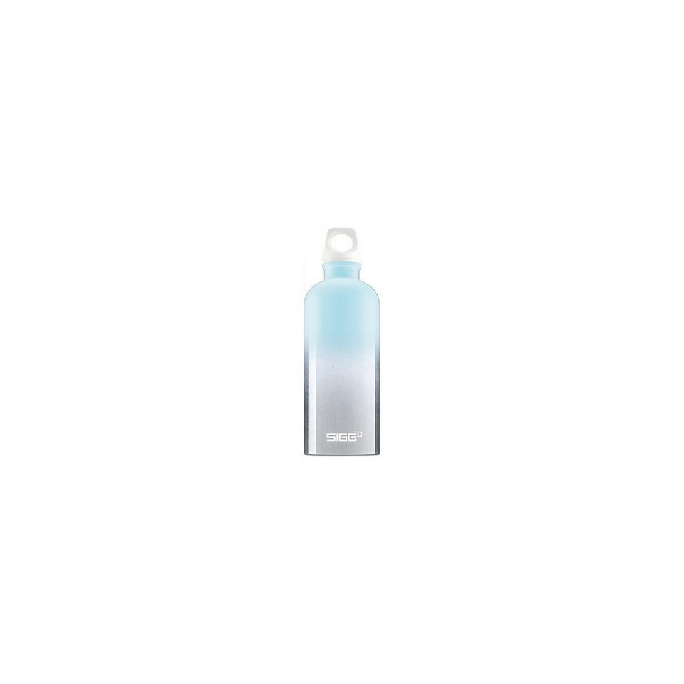SIGG Alu-Trinkflasche CRAZY Pastel Blue, 600 ml in blau