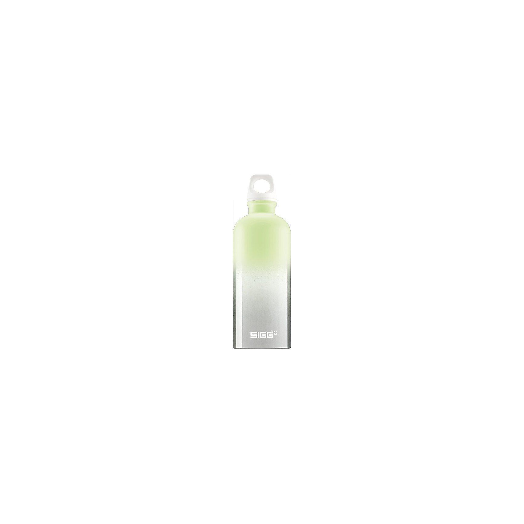SIGG Alu-Trinkflasche CRAZY Pastel Green, 600 ml