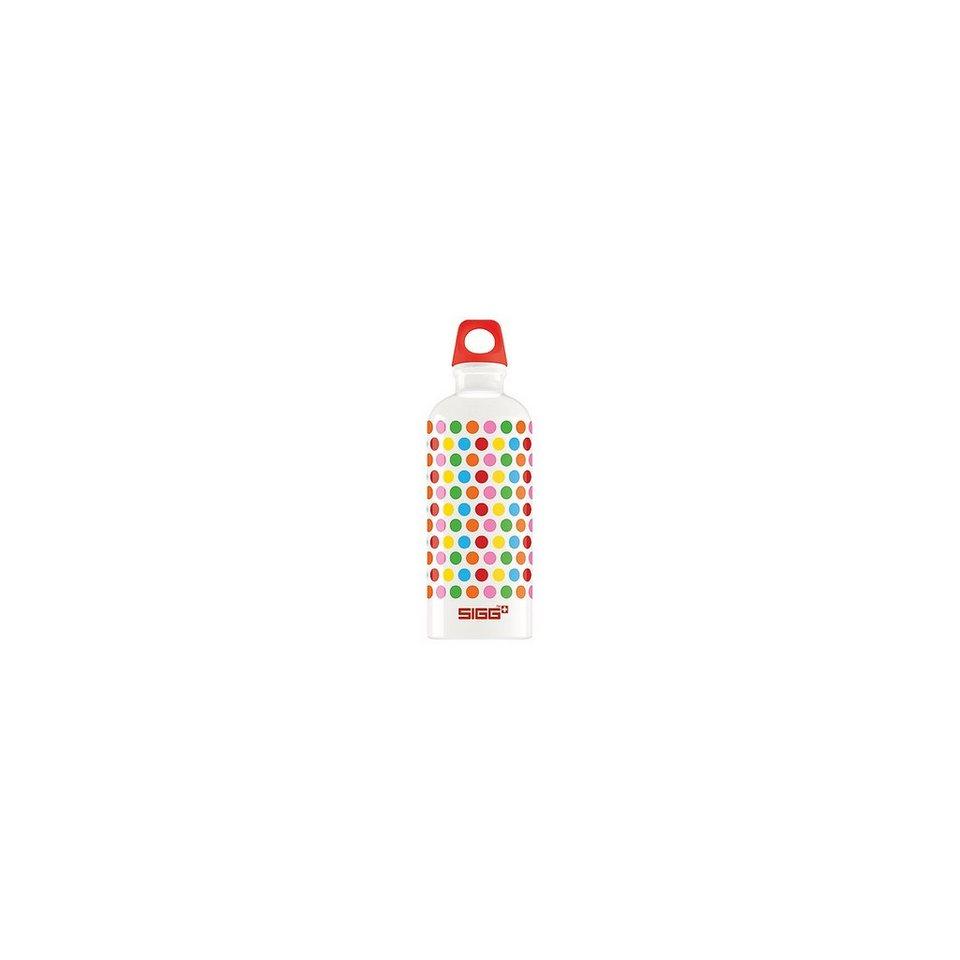 SIGG Alu-Trinkflasche Dots, 600 ml in mehrfarbig