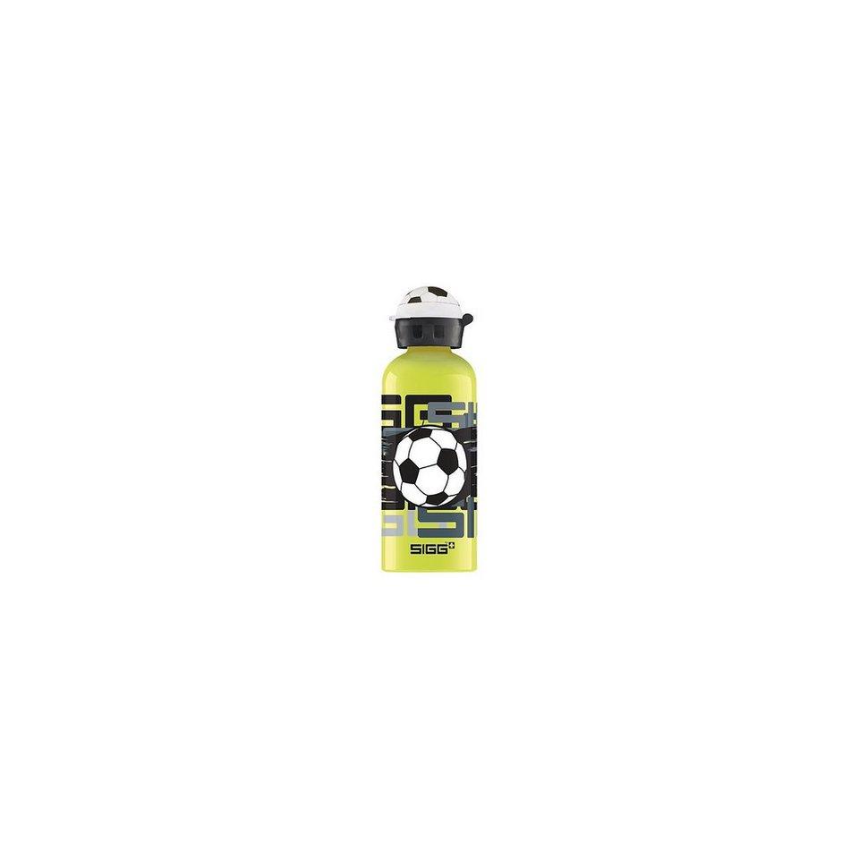 SIGG Alu-Trinkflasche Amazing Football, 600 ml in grün