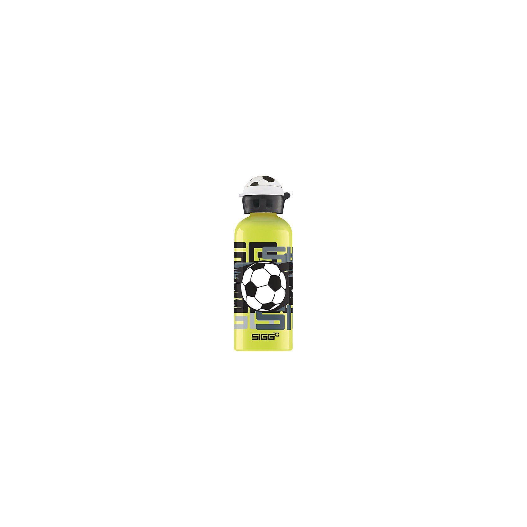 SIGG Alu-Trinkflasche Amazing Football, 600 ml