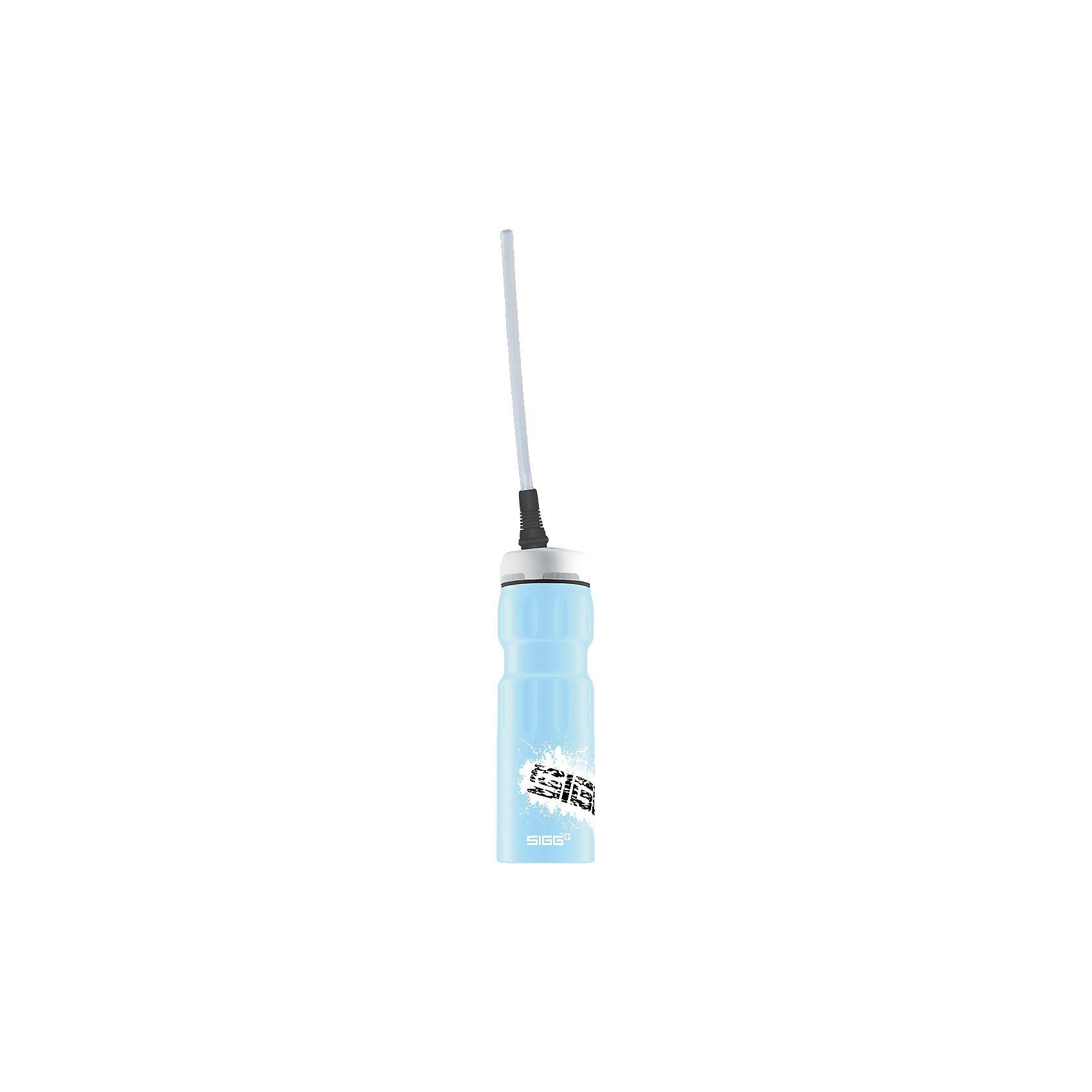 SIGG Alu-Trinkflasche DYN Sports Pastel Blue Touch, 750 ml