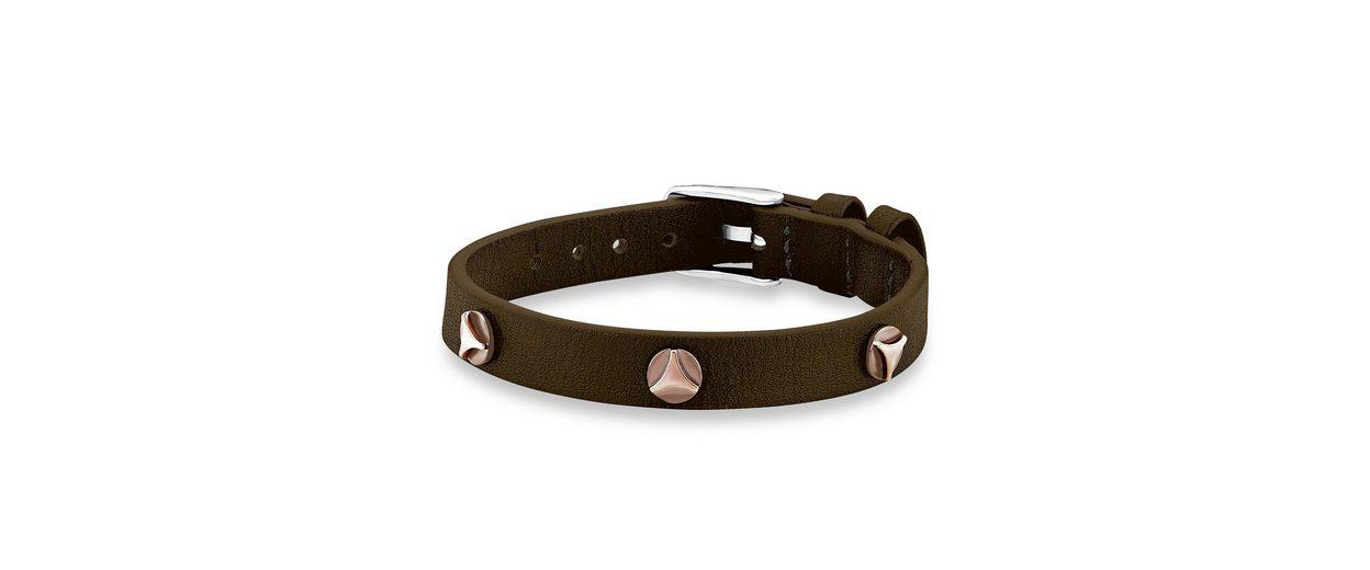 s.Oliver Junior Armband aus Leder, »Nieten, SOK219/1«